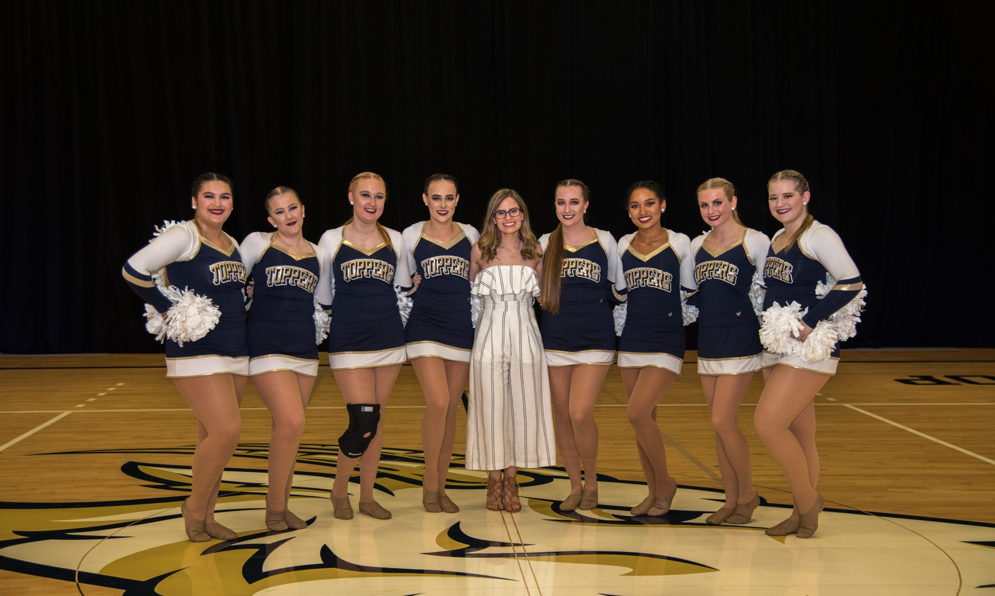 St. Edward's University Topperettes Dance Team