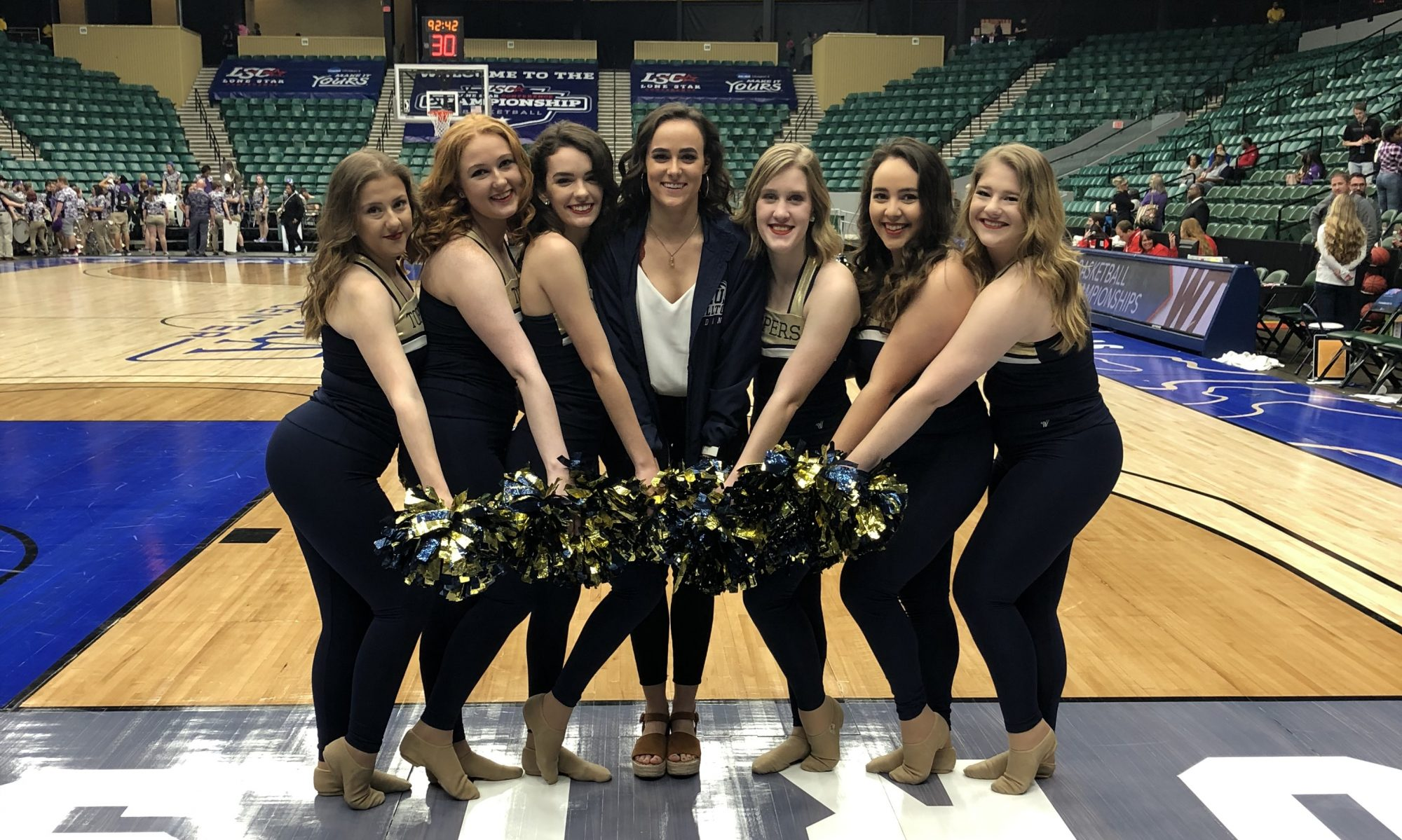St. Edward's University Topperettes Dance Team